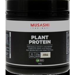 Photo of Musashi Plant Protein Vanilla 320g
