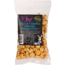 Photo of Dr Bugs Popcorn Salted Caramel 80g