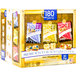 Photo of 180 Snacks Nut Crunch Variety Pack