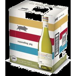 Photo of 6 bottles of Squealing Pig Sauvignon Blanc