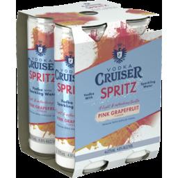 Photo of Vodka Cruiser Spritz - Pink Grapefruit