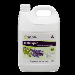 Photo of Abode Dish Liquid - Lavender & MInt 5L