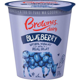 Photo of Brownes Ygt Blueberry 1kg