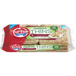 Photo of Tip Top® Sandwich Thins Lightly Seeded 6 Pack