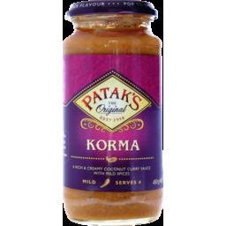 Photo of Patak's Korma Sauce 450g