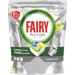 Photo of Fairy Platinum Plus Expert All In One Automatic Dishwasher Tablets 41 Count