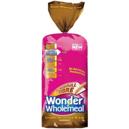 Photo of Wonder Wholemeal + Iron Sandwich Loaf 700gm