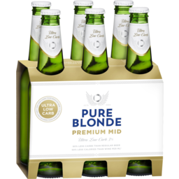 Photo of Pure Blonde Premium Mid Ultra Low Carb Stubbies