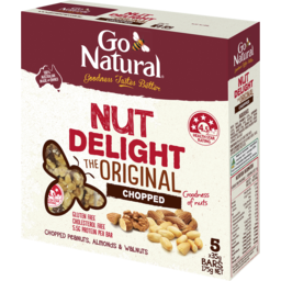 Photo of Go Natural Nut Delight Chopped Box 175g