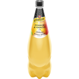 Photo of Schweppes Mineral Water Orange & Mango 1.1l