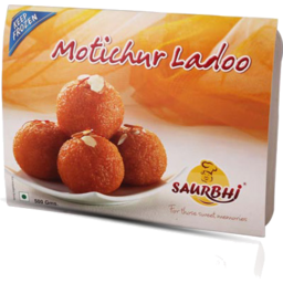 Photo of Saurbhi Sweet Motichoor Ladoo 200g