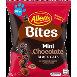 Photo of Allen's Bites Mini Chocolate Black Cats 120g