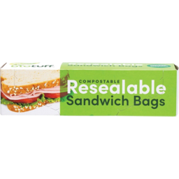Photo of Biotuff Bags - Sandwich Bags - Resealable - 30 Bags
