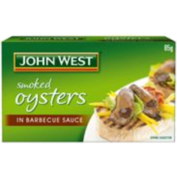 Photo of John West Oysters BBQ Sauce 85g