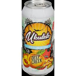 Photo of Deep Creek Ukulele Beer Peach Ginger Sour 440ml