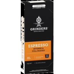 Photo of Grinders Espresso Capsules 10pk