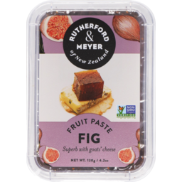 Photo of Rutherford & Meyer Paste Fig 120g
