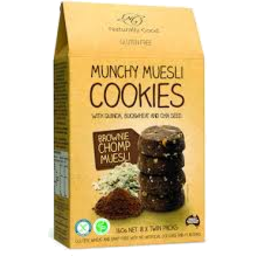 Photo of Naturally Good Munchy Muesli Cookies Brownie Chomp Muesli 8 Pack
