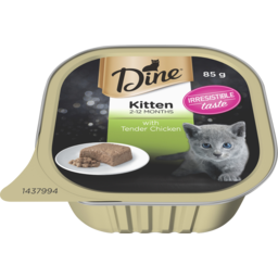 Photo of Dine Kitten with Tender Chicken 85g
