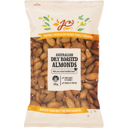 Photo of J.C.'s Roasted Almonds 375g