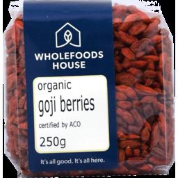 Photo of Wholefoods House Goji Berries Organic 250g