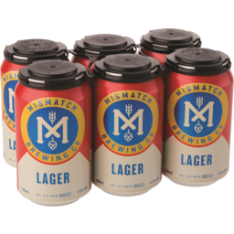Photo of Mismatch Brewing Co Lager Can