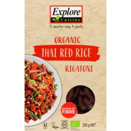 Photo of Explore Cuisine Organic Thai Red Rice Rigatoni 250g