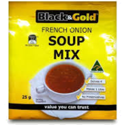 Photo of Black And Gold Soup French Onion 40gm