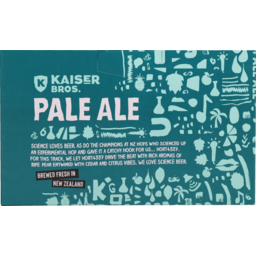 Photo of Kaiser Bros Beer Pale Ale 6 X 330ml Can