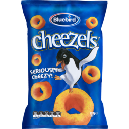 Photo of Bluebird Cheezels Cheese 120g