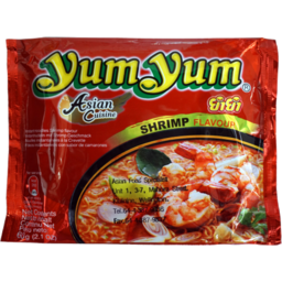 Photo of YUM YUM INSTANT NOODLE TOMATOES SHRIMP 60gm