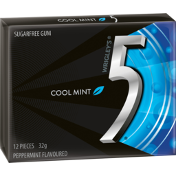 Photo of Wrigley's 5 Gum Cool Mint 12 Pieces 32g