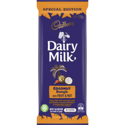 Photo of Cadbury Dairy Milk Coconut Rough With Fruit & Nut 170g