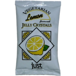 Photo of Just Wholefoods - Jelly - Vegan Crystals - Lemon - 85g