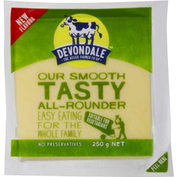 Photo of DEVONDALE CHEESE TASTY MAT 250GM