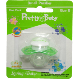 Photo of Pretty Baby Newborn Pacifier 0-3mth Silicone