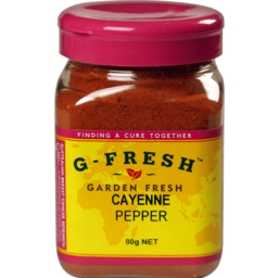 Photo of Gfresh Cayenne Pepper 80gm