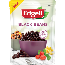 Photo of Edgell Black Beans 100g
