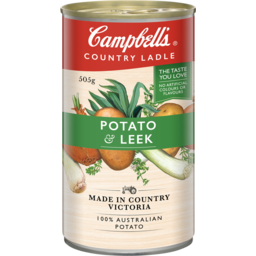 Photo of Campbells Soup Country Ladle Potato & Leek 505g