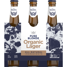 Photo of Pure Blonde Organic Lager Bottle