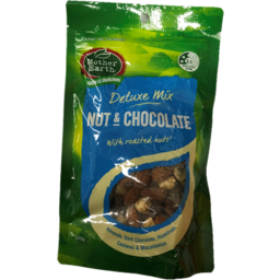 Photo of Mother Earth Deluxe Mix Nut & Chocolate 150g