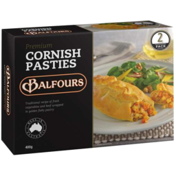 Photo of Balfours Premium Cornish Pasties 400g