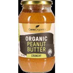 Photo of Ceres Organics P/Nutbutter Crunchy 700g