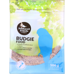 Photo of Feathered Friends Budgie Food 500g