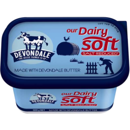 Photo of Devondale Dairy Soft Salt Reduced 500gm
