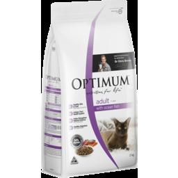 Photo of Optimum Dry Cat Food With Ocean Fish 2kg Bag