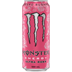 Photo of Monster Zero Sugar Ultra Rosa Energy Drink Can 500ml