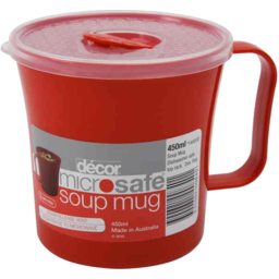 Photo of Decor Microsafe Soup Mug