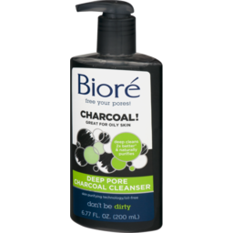 Photo of Biore Deep Pore Charcoal Cleanser