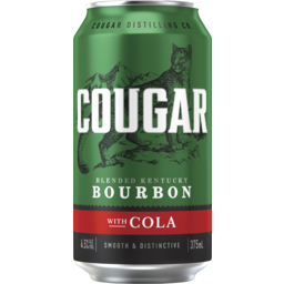 Photo of Cougar Bourbon & Cola Can
